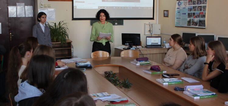 Зустріч гаранта освітньої-професійної програми «Англійська мова і література» та деканеси факультету іноземної філології зі студентами групи Fil1-B21